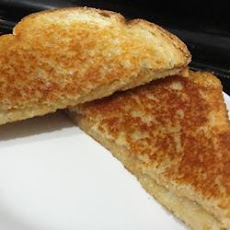 Grilled Cheese and Peanut Butter Sandwich