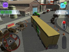 Screenshot of Truck Sim 3D Parking Simulator