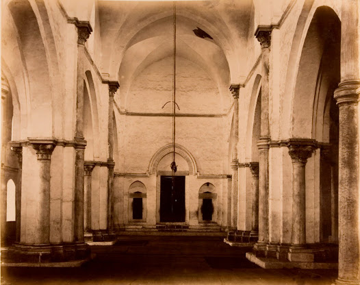 Interior of the Great Mosque of Gaza