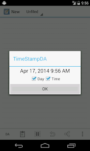 TimeStampDA - screenshot