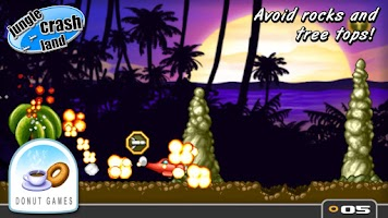 Screenshot of Jungle Crash Land