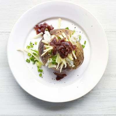 Three Cheese & Onion Jacket Potato Topper