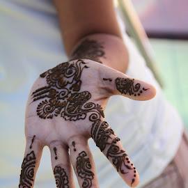 Swirls and curves by Sanduni Perera - People Body Art/Tattoos ( hand, body art, artistic, , person, people, tattoo )