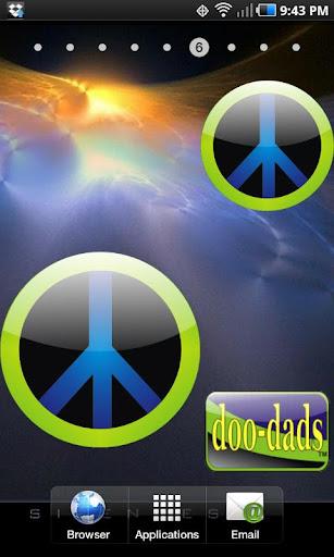 Peace doo-dad