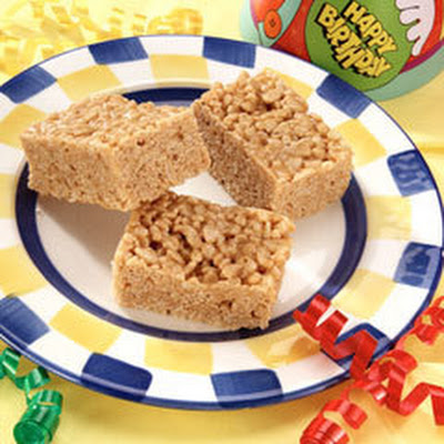 Peanut Butter Cereal Treats