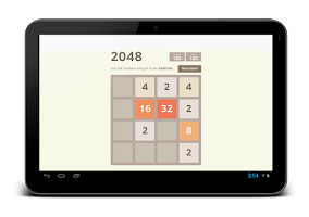 Screenshot of 2048 Simple Puzzle