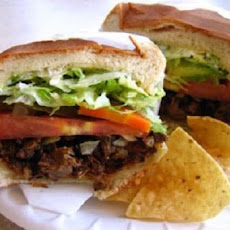 Tortas De Carne Asada - Grilled Steak Sandwiches