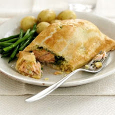 Watercress & Salmon Parcels