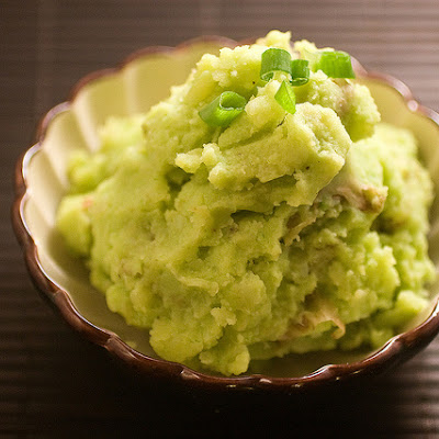 Scallion Mashed Potatoes