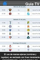 Screenshot of Liga MX en TV