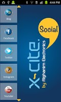 Screenshot of Xcite Social