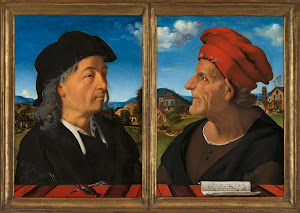 RIJKS: Piero di Cosimo: Portraits of Giuliano and Francesco Giamberti da Sangallo 1485