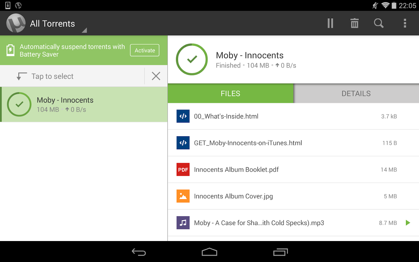 µTorrent® Pro - Torrent App Screenshot 9