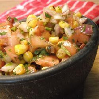 Chipotle and Roasted Corn Salsa
