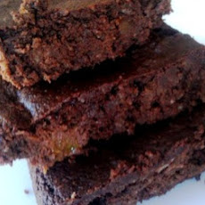 Paleo Peach Walnut Brownies