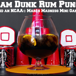 Celebrate NCAA® March Madness with Slam Dunk Rum Punch, a DIY Mini-Game, and a Giveaway!
