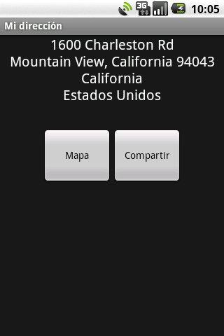 Mi dirección