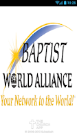 Screenshot of Baptist World Alliance Network