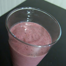 Flax Berry Smoothie (W/Spinach - Shhh,they Won't Know!)