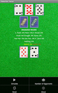 PokerSim Yocta! - screenshot