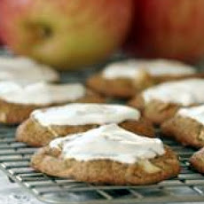 Glazed Apple Cookies