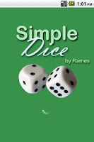 Screenshot of Simple Dice (Free)