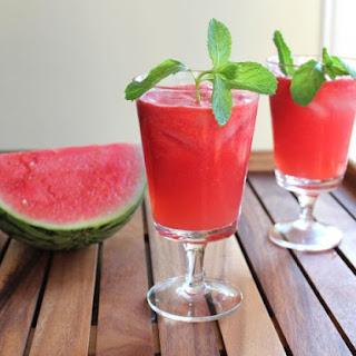 Fresh Watermelon Alcoholic Drinks Recipes