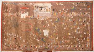 RIJKS: anoniem, Maharana Rana Sangram Singh II: painting 1711