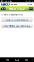Screenshot of MECU Mobile Banking