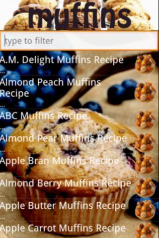 Muffin recipes free version