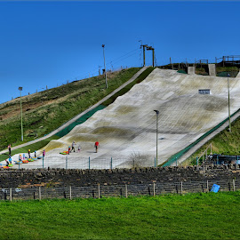 Halifax Ski slope by Nic Scott - Sports & Fitness Other Sports ( skiing, slope, sports )