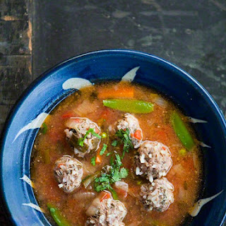 Albondigas Soup Beef Broth Recipes