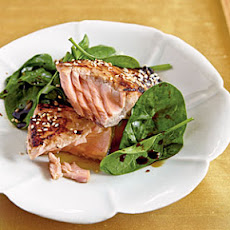 Grilled Salmon With A Miso Honey Glaze Recipe | Yummly
