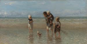 RIJKS: Jozef Israëls: Children of the Sea 1872