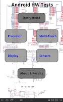 Screenshot of Hardware Tests