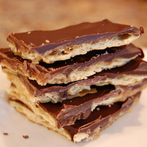 Cracker Toffee
