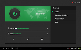Screenshot of VPN VIATUN