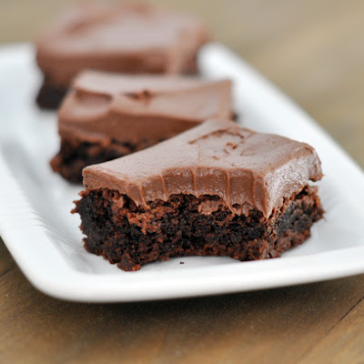Chocolate Frosted Brownies