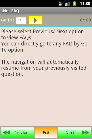 .Net FAQ