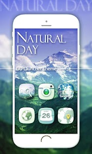 Natural Day GO Launcher Theme - screenshot