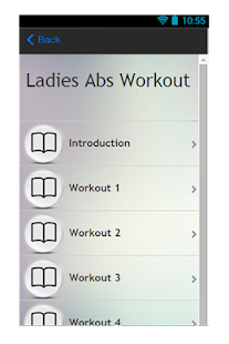 Ladies Abs Workout Guide - screenshot