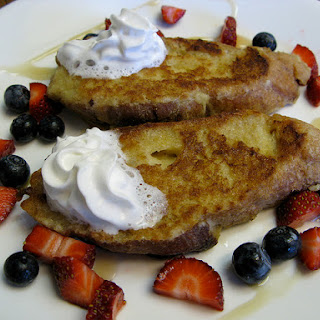 Coconut Milk French Toast
