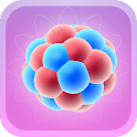 Atomic Nucleos 3d icon