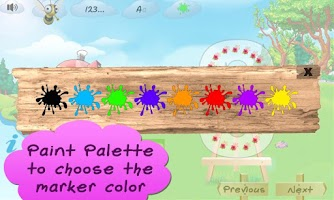 Screenshot of I Can Write ABC kids alphabets