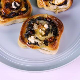Vegetarian Spinach Pinwheel Recipes