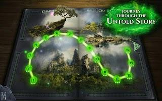 Screenshot of Maleficent Free Fall
