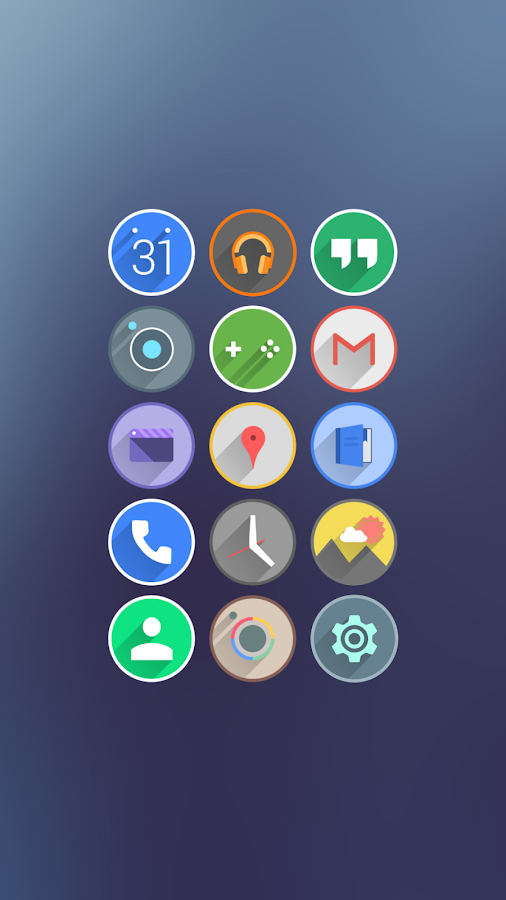 Velur - Icon Pack Screenshot 0