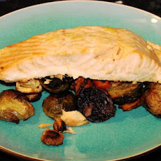 Roasted Salmon With Root Vegetables