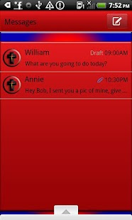 GO SMS THEME/inGodweTrust - screenshot