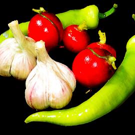 to health by LADOCKi Elvira - Food & Drink Fruits & Vegetables ( color, garden )